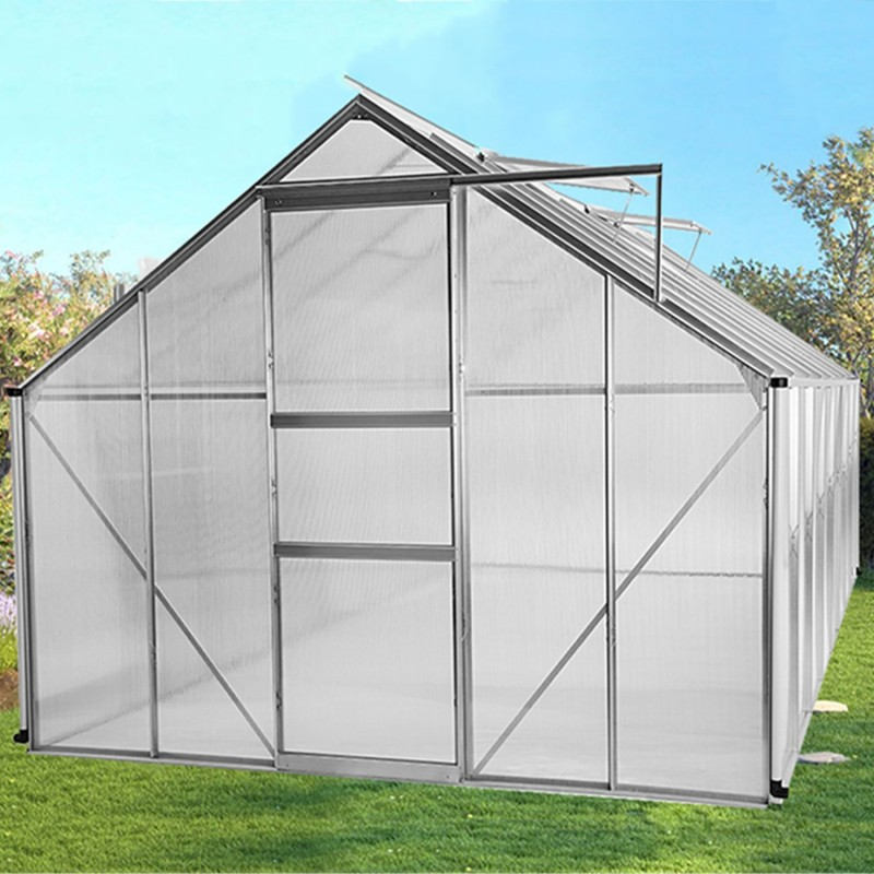 Serre de jardin aluminium polycarbonate - Serre de jardin polycarbonate ...