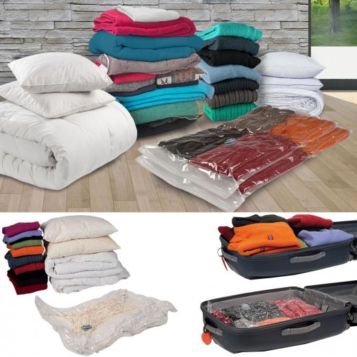 housse de rangement sous vide x2 80x120 cm linge et entretien de. Black Bedroom Furniture Sets. Home Design Ideas
