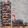 Etagère range chaussures modulable 2 en 1