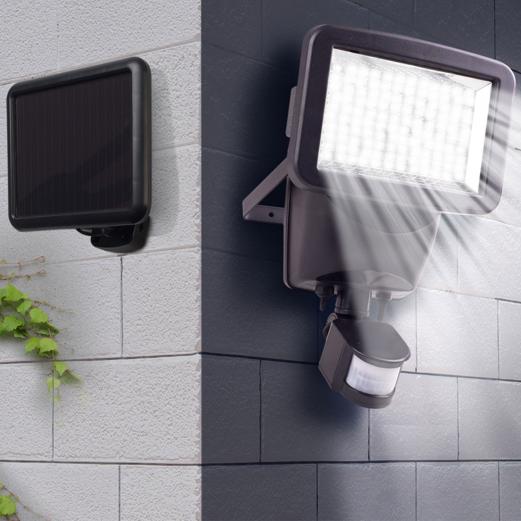 Projecteur Led Avec Détecteur De Mouvement : projecteur solaire 120 led avec d tecteur de mouvement ~ Dailycaller-alerts.com Idées de Décoration