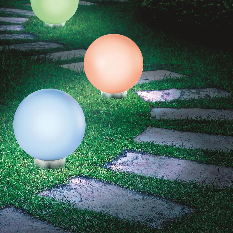 Solaire Lampe 30 Idmarket Boule Color Cm KcFluT1J35