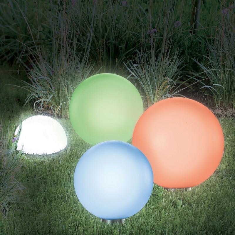 lampe boule solaire color 20 cm eclairage et d coration. Black Bedroom Furniture Sets. Home Design Ideas
