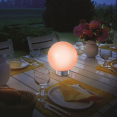 LAMPE BOULE SOLAIRE COLOR 20 CM