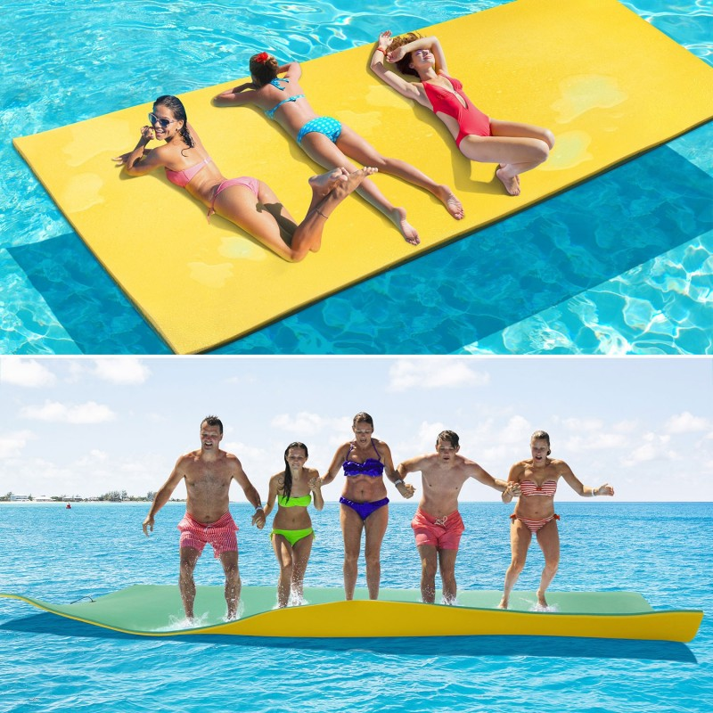 Tapis flottant 270 x 90 cm mousse sp cial piscine ou mer for Tapis mousse piscine