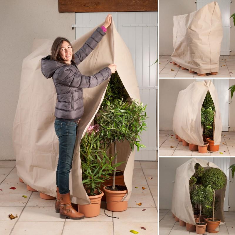 Housse D'Hivernage Pour Plante Et Arbuste 200 X 240 Cm Forçage, Hi