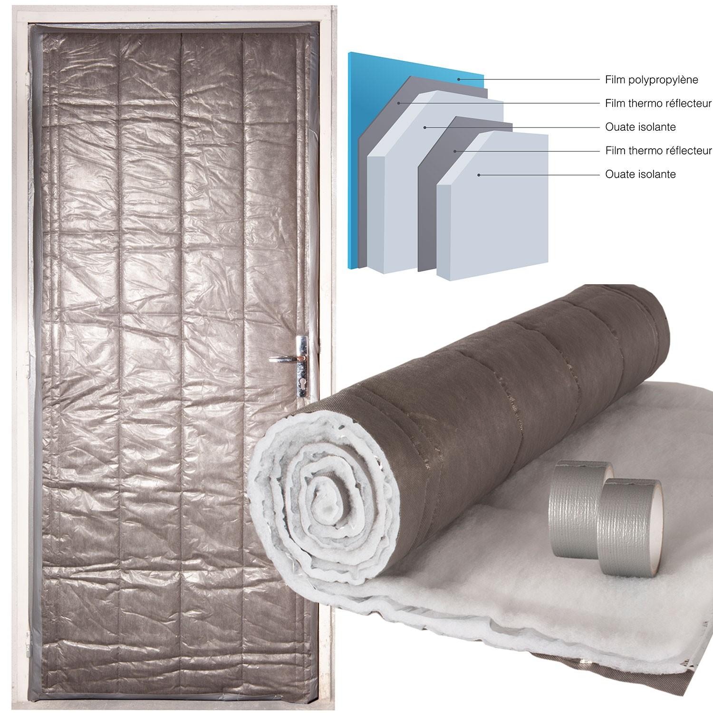 kit isolation porte de service 210 x 85 cm outillage et accessoire. Black Bedroom Furniture Sets. Home Design Ideas