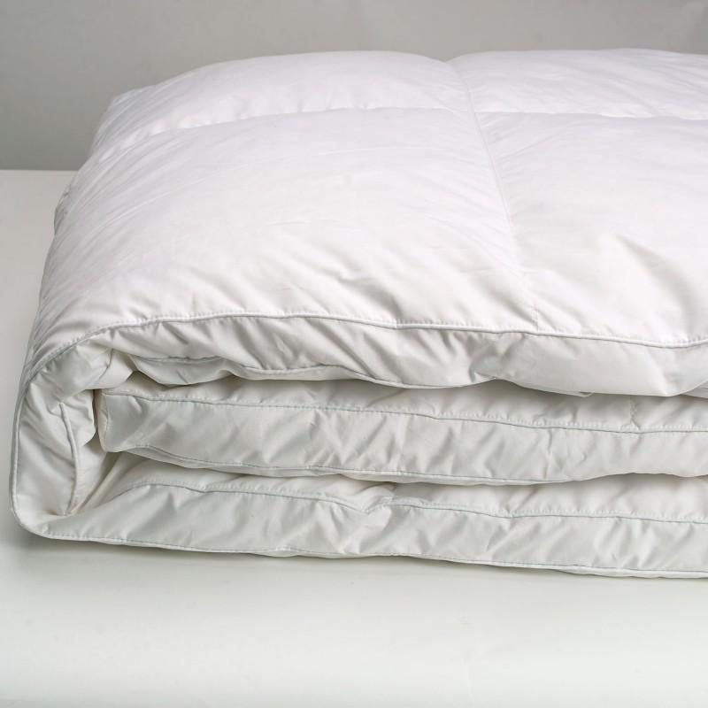 surmatelas plumes d 39 oie 160 x 200 cm anti acariens confort. Black Bedroom Furniture Sets. Home Design Ideas