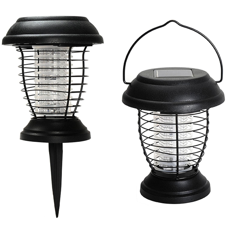 lanterne anti moustique nergie solaire 2 en 1 lampe anti. Black Bedroom Furniture Sets. Home Design Ideas