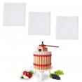 Lot X3 filtres de rechange pour pressoir à fruit manuel 6L
