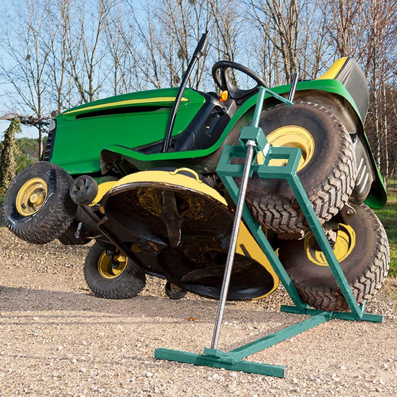 cric leve tracteur tondeuse 400 kg entretien pelouse et haie. Black Bedroom Furniture Sets. Home Design Ideas