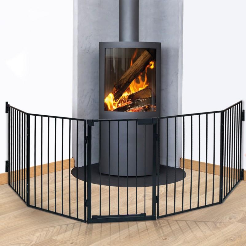 barriere de securite cheminee. Black Bedroom Furniture Sets. Home Design Ideas