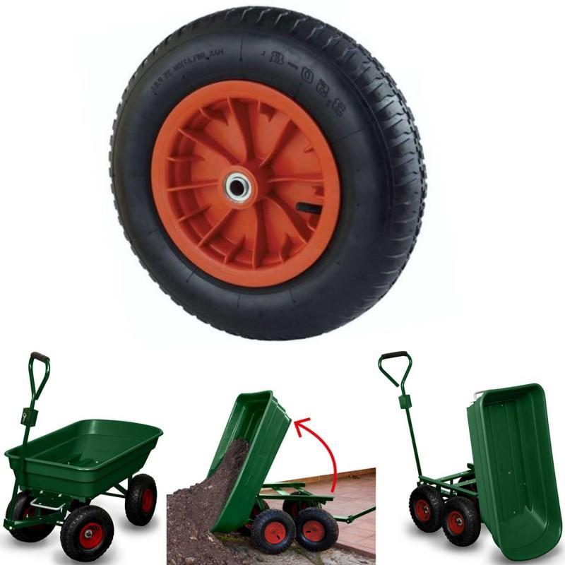 roue gonflable 39 cm pour brouette axe 25mm chariots et roues de j. Black Bedroom Furniture Sets. Home Design Ideas