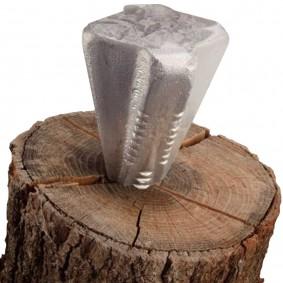 Coin à bois éclateur 2,25 kg forme étoile
