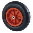 Roue gonflable 39 cm pour brouette axe 20mm