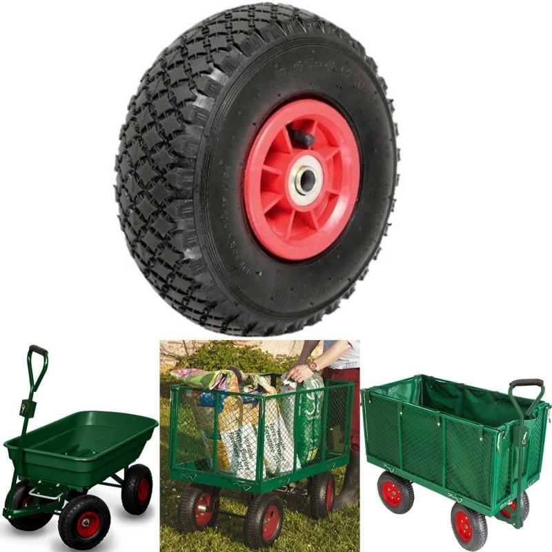 roue gonflable pour diable brouette chariot 260x85mm 150kg. Black Bedroom Furniture Sets. Home Design Ideas