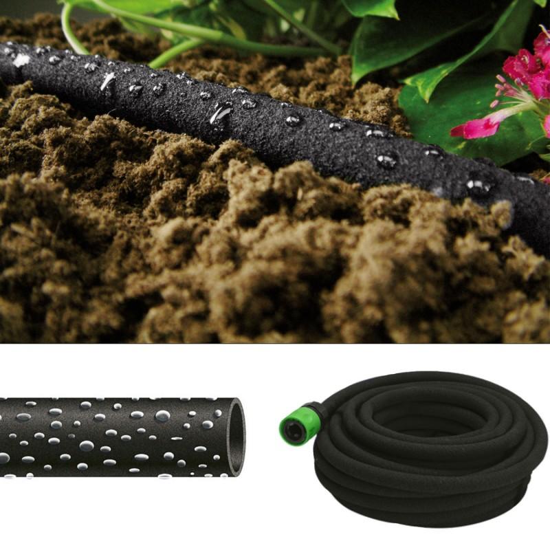 tuyau poreux 12m goutte goutte sp cial irrigation arrosage et pr. Black Bedroom Furniture Sets. Home Design Ideas