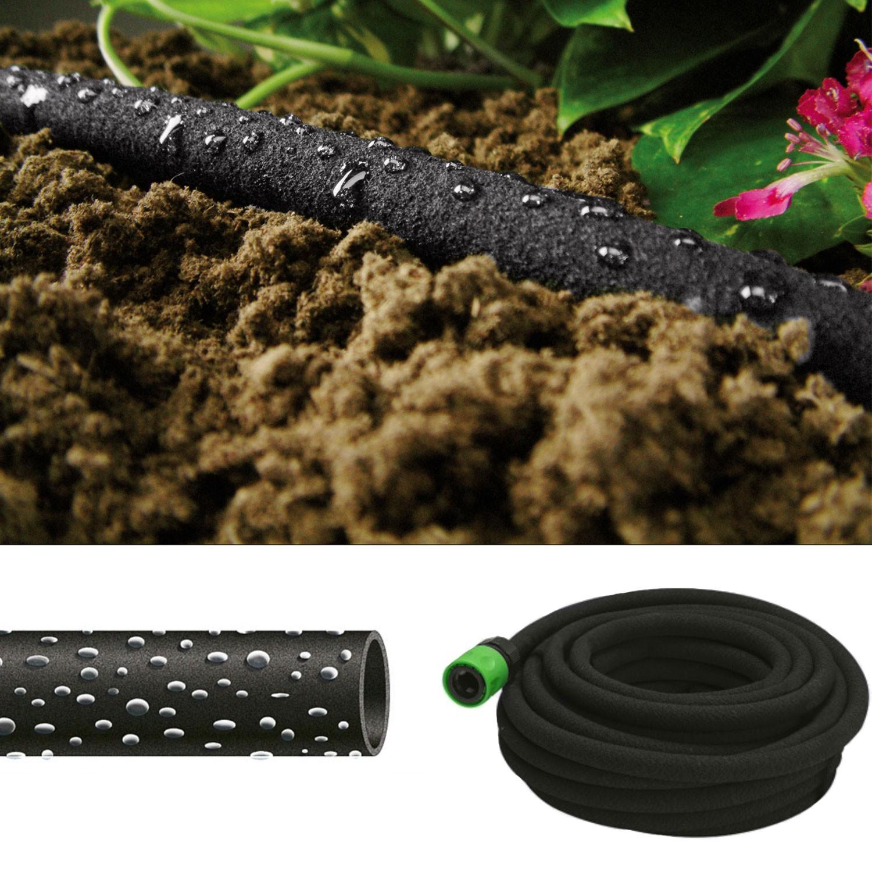 tuyau poreux 12m goutte goutte sp cial irrigation. Black Bedroom Furniture Sets. Home Design Ideas