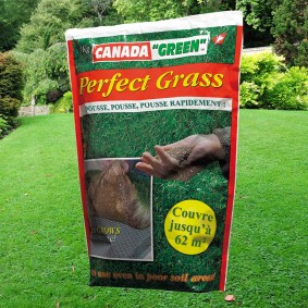 Sac gazon rapide Perfect Grass Canada Green 1kg