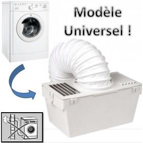 Kit condenseur sèche linge universel avec tuyau d'évacuation