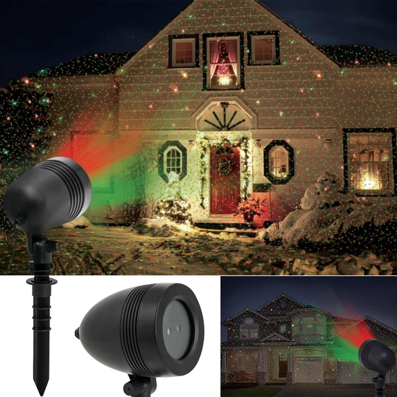Projecteur laser 1000 points lumineux clairage fa ade for Laser decoratif exterieur