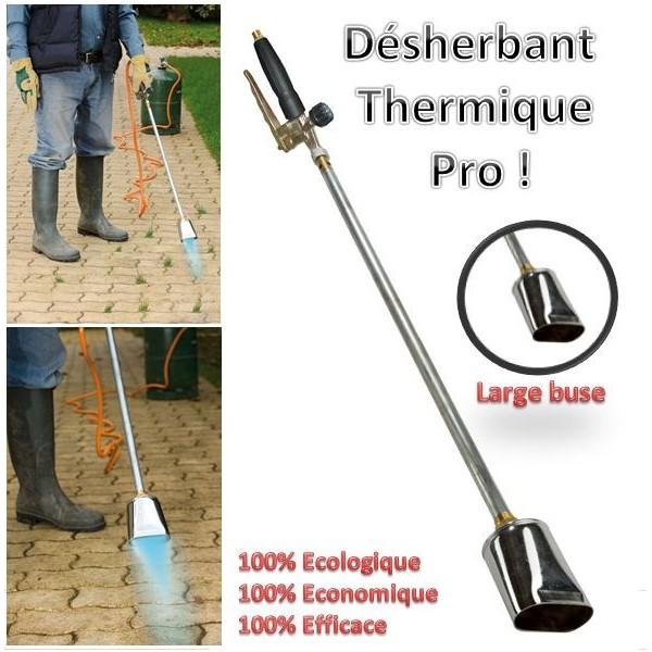 Lance d sherbeur thermique d sherbant mauvaises herbes cologique probache - Desherbant ecologique et efficace ...