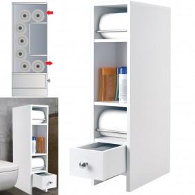meuble wc tag re bois gain de place pour toilettes 3. Black Bedroom Furniture Sets. Home Design Ideas