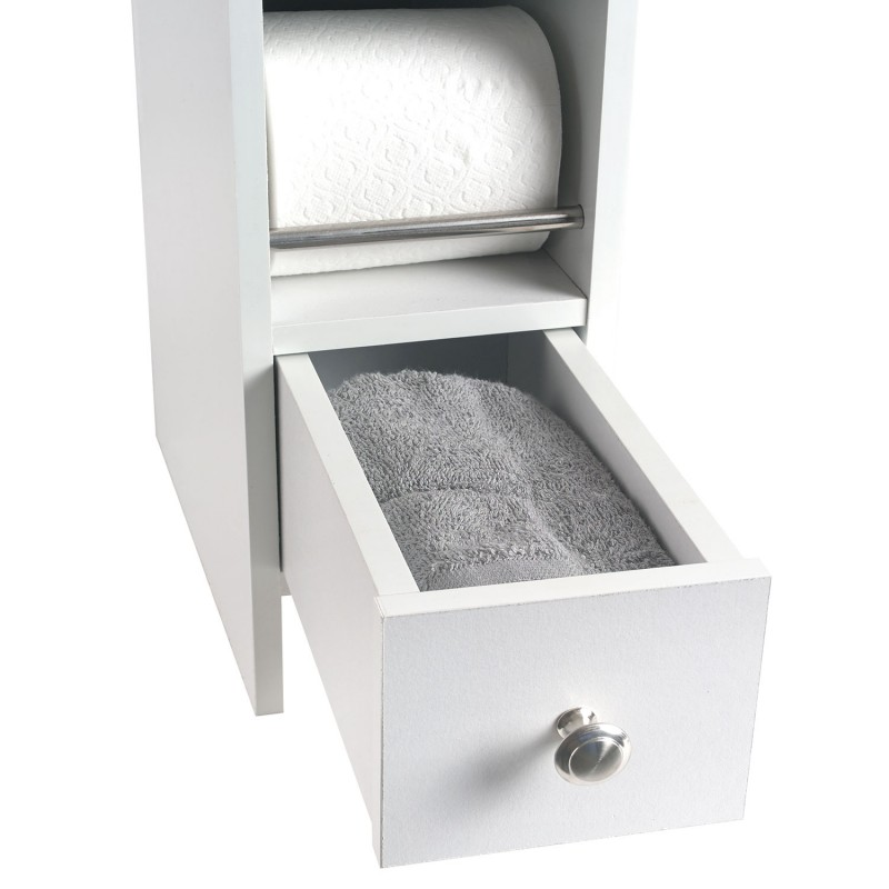 meuble rangement wc distributeur rouleaux ebay. Black Bedroom Furniture Sets. Home Design Ideas