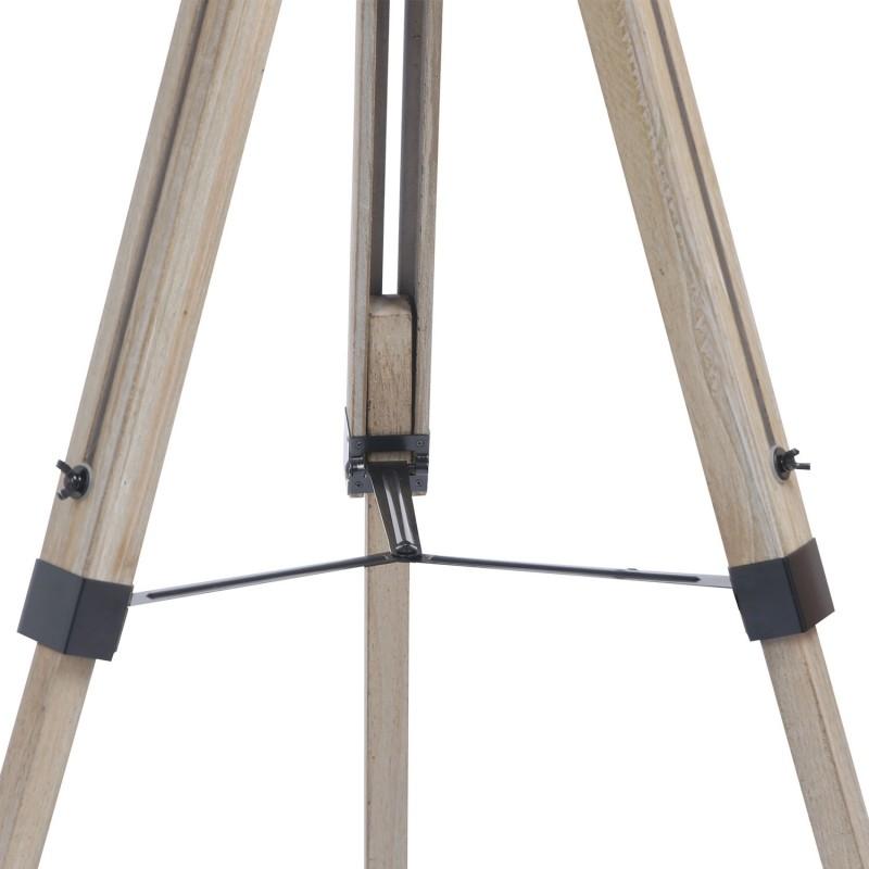 lampadaire tr pied bois gris pas cher id market. Black Bedroom Furniture Sets. Home Design Ideas