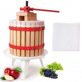 Lot X3 filtres de rechange pour pressoir à fruit manuel 18 L