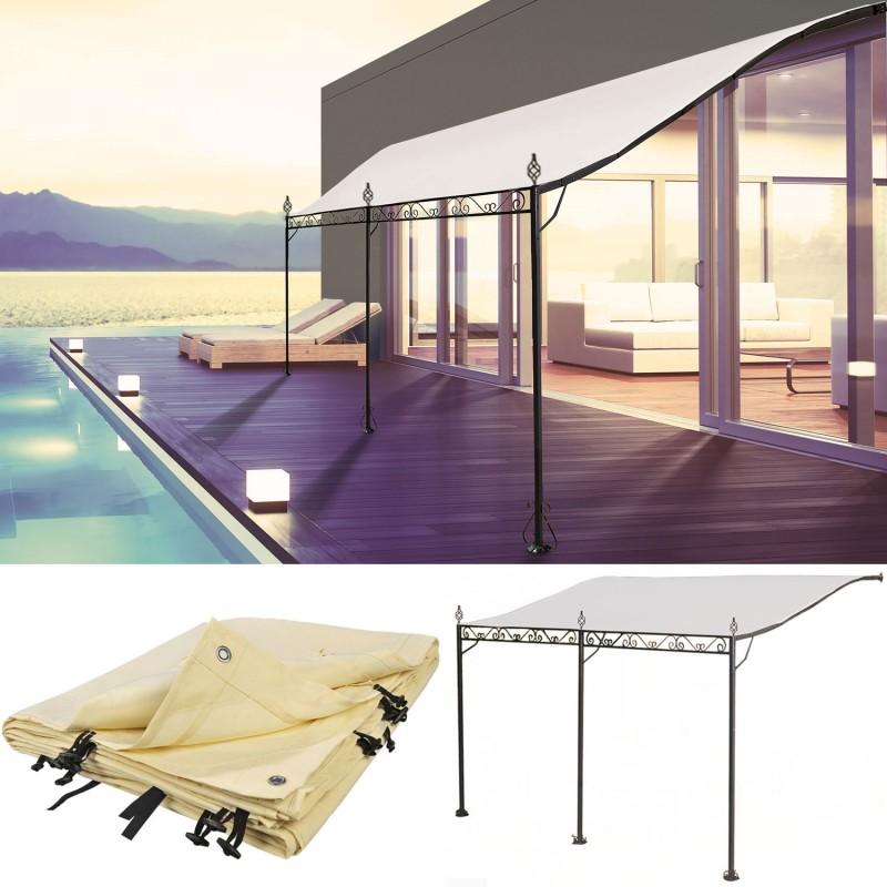 bache pour auvent de terrasse awesome bche pour tonnelle. Black Bedroom Furniture Sets. Home Design Ideas