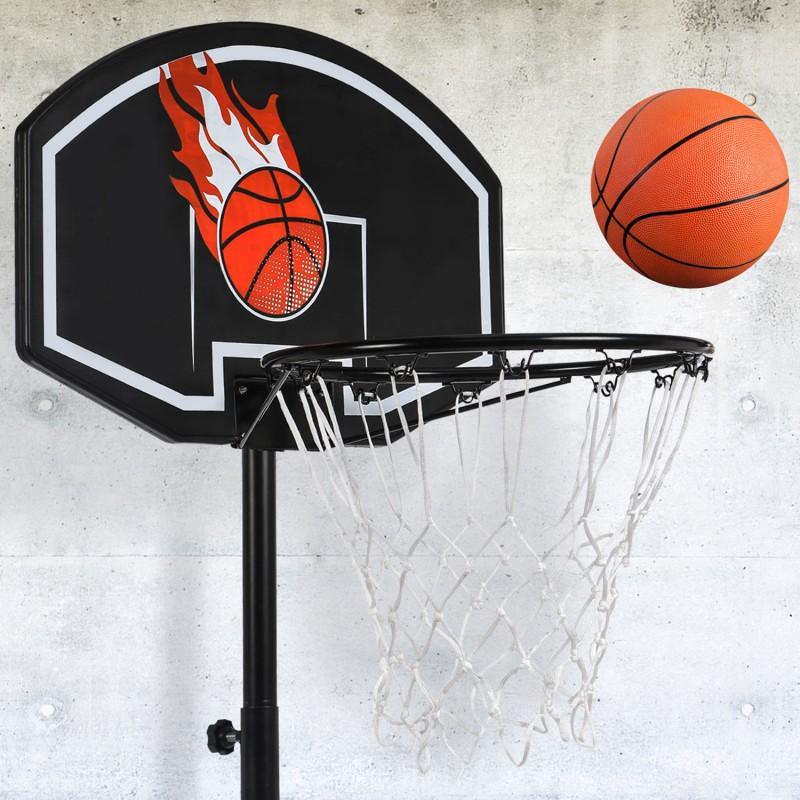 panier de basket sur pied hauteur r glable ebay. Black Bedroom Furniture Sets. Home Design Ideas