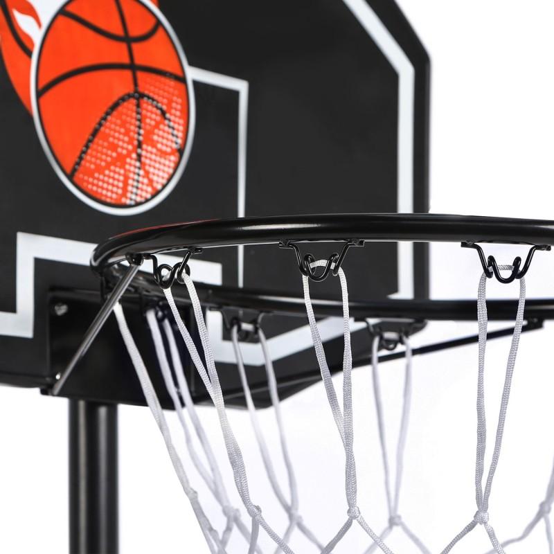 Panier de basket sur pied hauteur r glable piscine et jeux for Panier de basket pour piscine