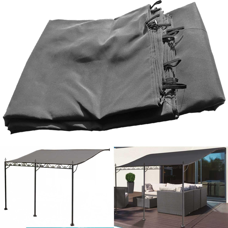 toile pour tonnelle adoss e 3x4m hd66 jornalagora. Black Bedroom Furniture Sets. Home Design Ideas