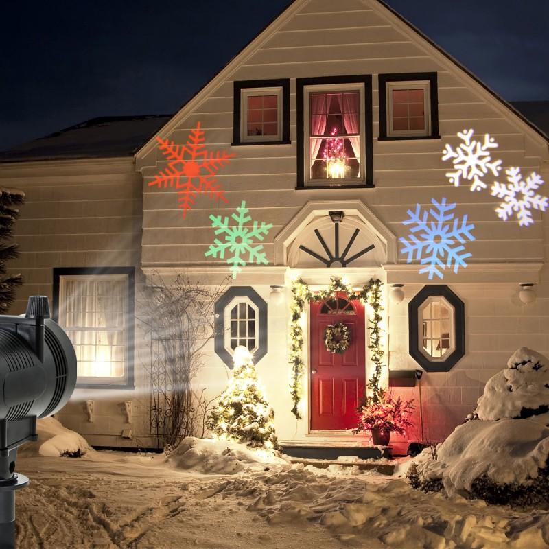 Projecteur Led Facade Decoration De Noel