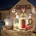 Projecteur led motifs de Noël multicolores déco pour façade