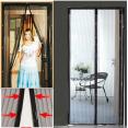 Rideau moustiquaire magnétique fenêtre porte aimantée