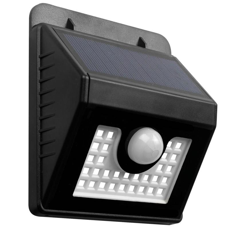 Applique 30 led solaire murale avec sensor eclairage et for Eclairage exterieur applique murale solaire