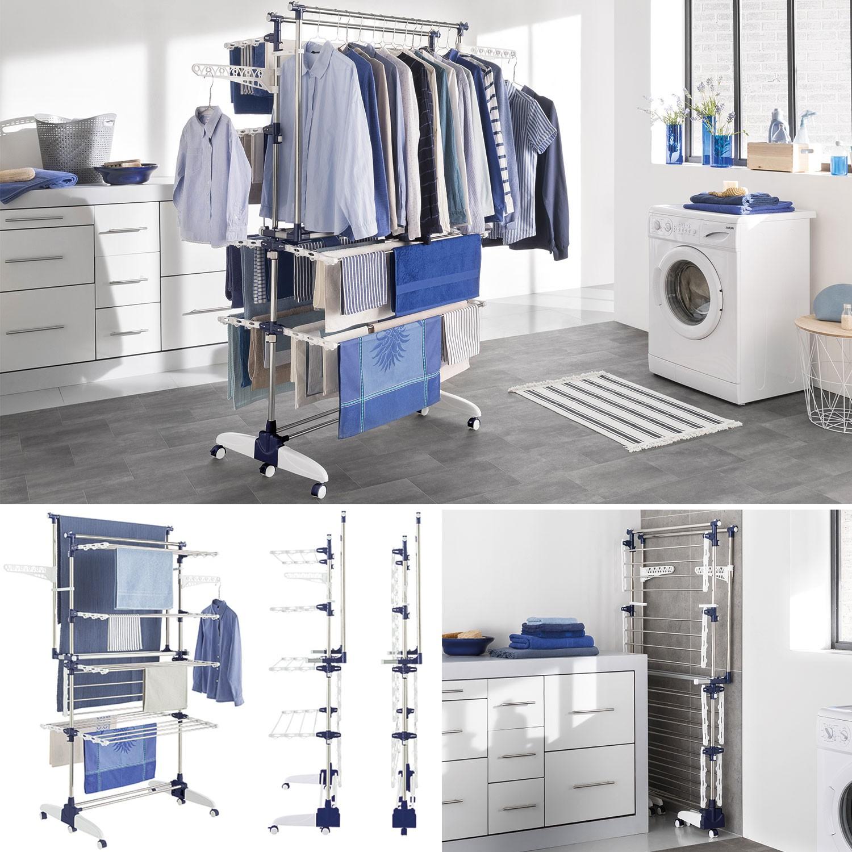 s choir penderie modulable inox linge et entretien de la maison. Black Bedroom Furniture Sets. Home Design Ideas