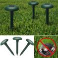 Chasse taupe solaire anti-taupe et rongeur de jardin x3 pcs