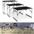 Tables à tapisser X3 pliantes multi-usages en aluminium