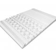 Surmatelas mousse mémoire de forme10 zones 140X190 cm
