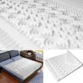 Surmatelas mousse mémoire de forme 10 zones 80X200 cm