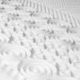 Surmatelas mousse mémoire de forme 10 zones 90X190 cm