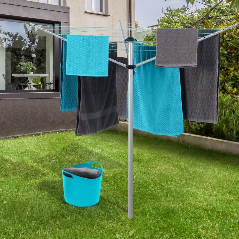 s choir linge parapluie tendage ext rieur 24 m linge et. Black Bedroom Furniture Sets. Home Design Ideas