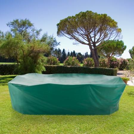 Housse de protection pvc pour table rectangle chaises - Bache pour chaise de jardin ...