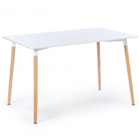 Table SARA blanche design scandinave