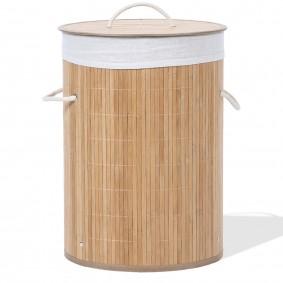 Panier à linge bambou