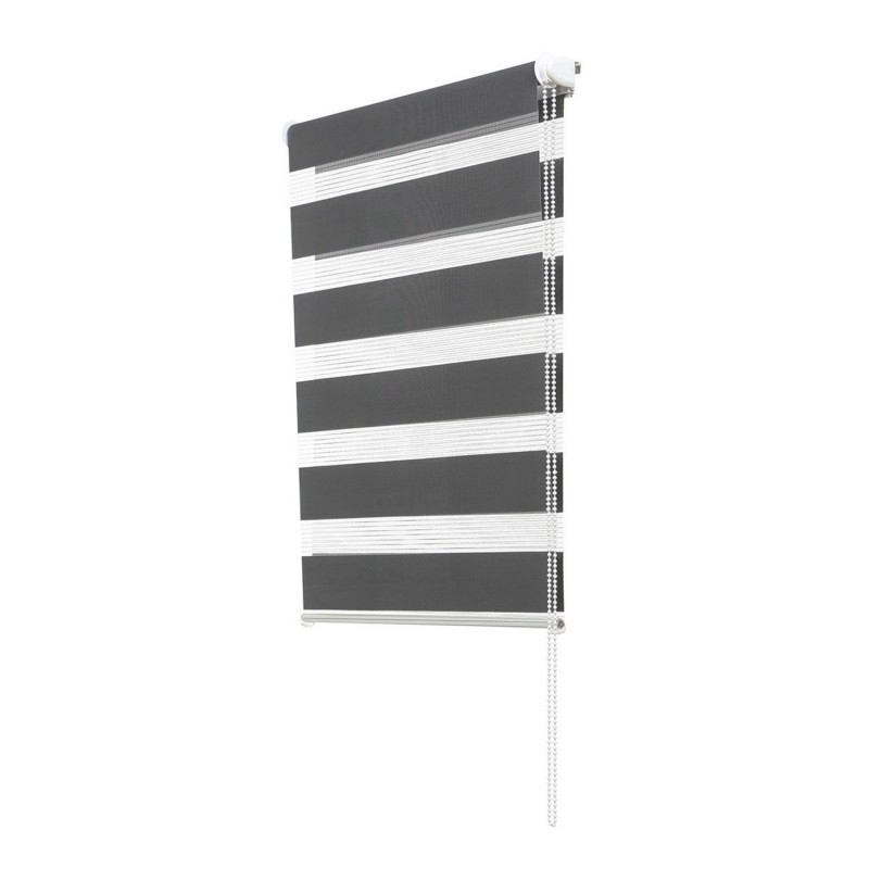store enrouleur z br jour nuit 45 x 170 cm gris accessoires maiso. Black Bedroom Furniture Sets. Home Design Ideas