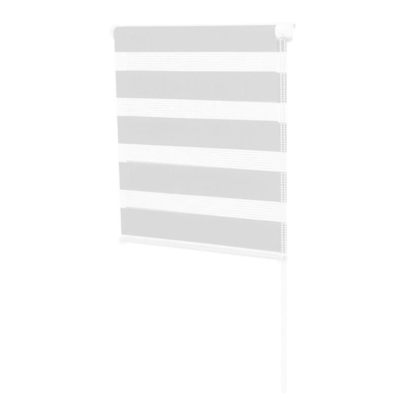 store enrouleur jour nuit pas cher blanc 60 x 120 cm id. Black Bedroom Furniture Sets. Home Design Ideas