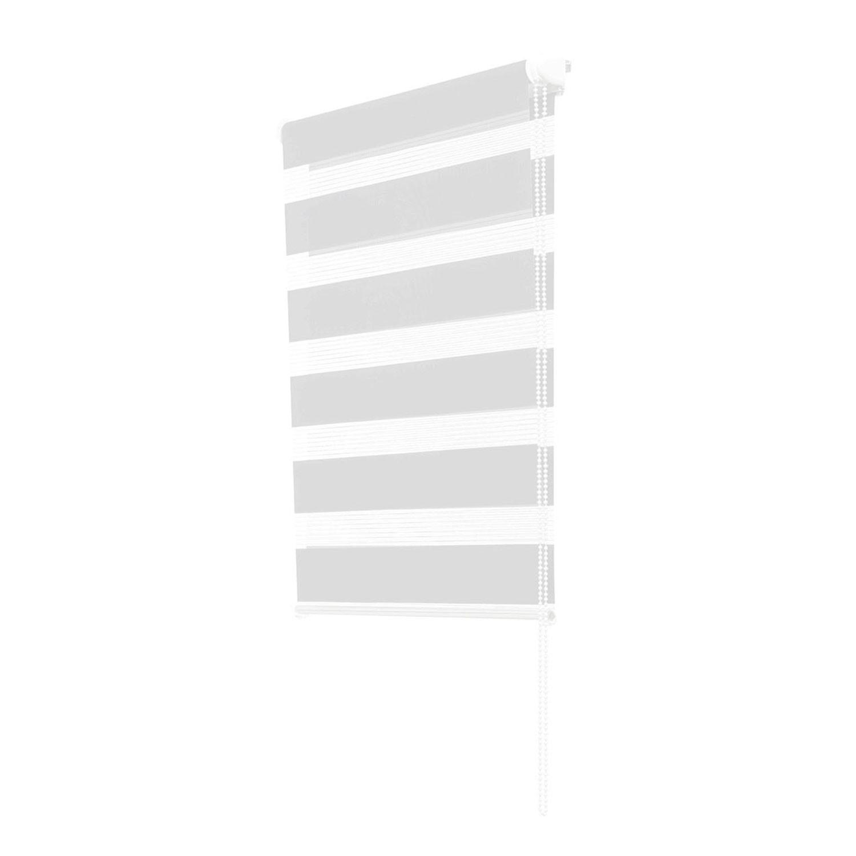 pour Fen/être ou Porte Tissu Double tamiser la lumi/ère 40 x 120 cm Reid Mohammad Store Enrouleur Jour Nuit sans Per/çage Gris